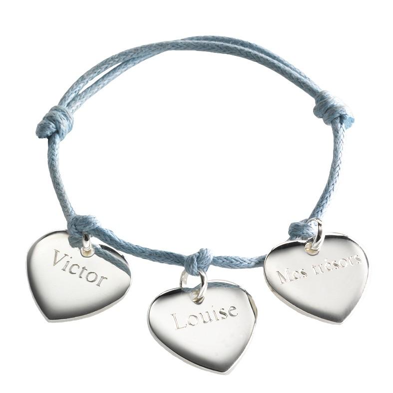 pulseras corazon nombre